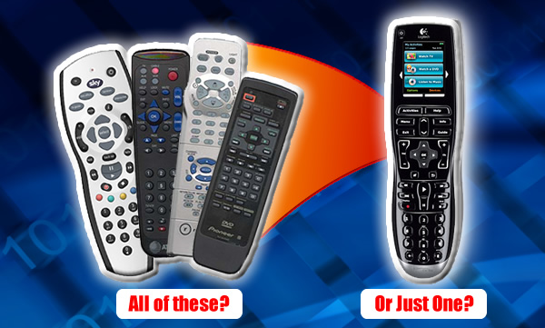 Just one remote