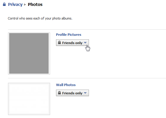 Facebook Photo Privacy